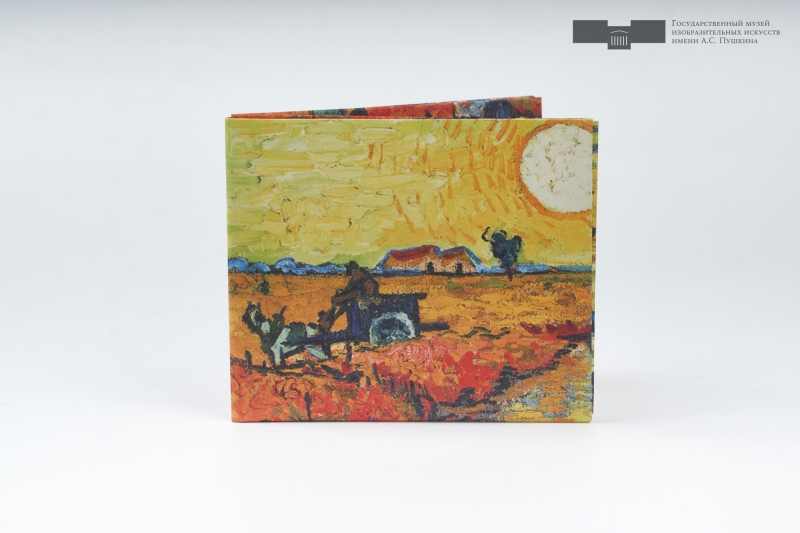 Кошелек NEW WALLET - New Vangogh; сделан из Tyvek®