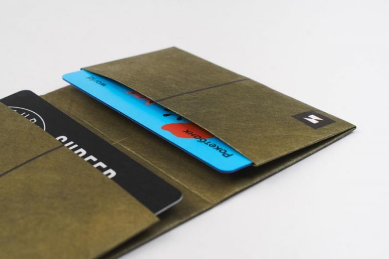 Кардхолдер NEW WALLET - New Linehap; сделан из Tyvek®