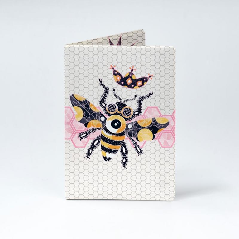 Обложка на паспорт NEW WALLET - New Beefly; сделан из Tyvek®