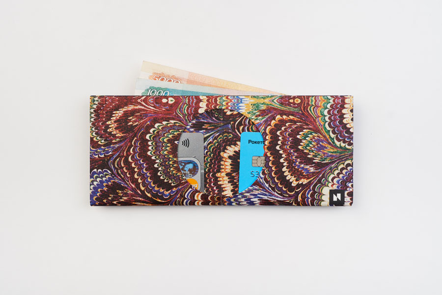 Кошелек NEW WALLET - New Gaffarel; сделан из Tyvek®