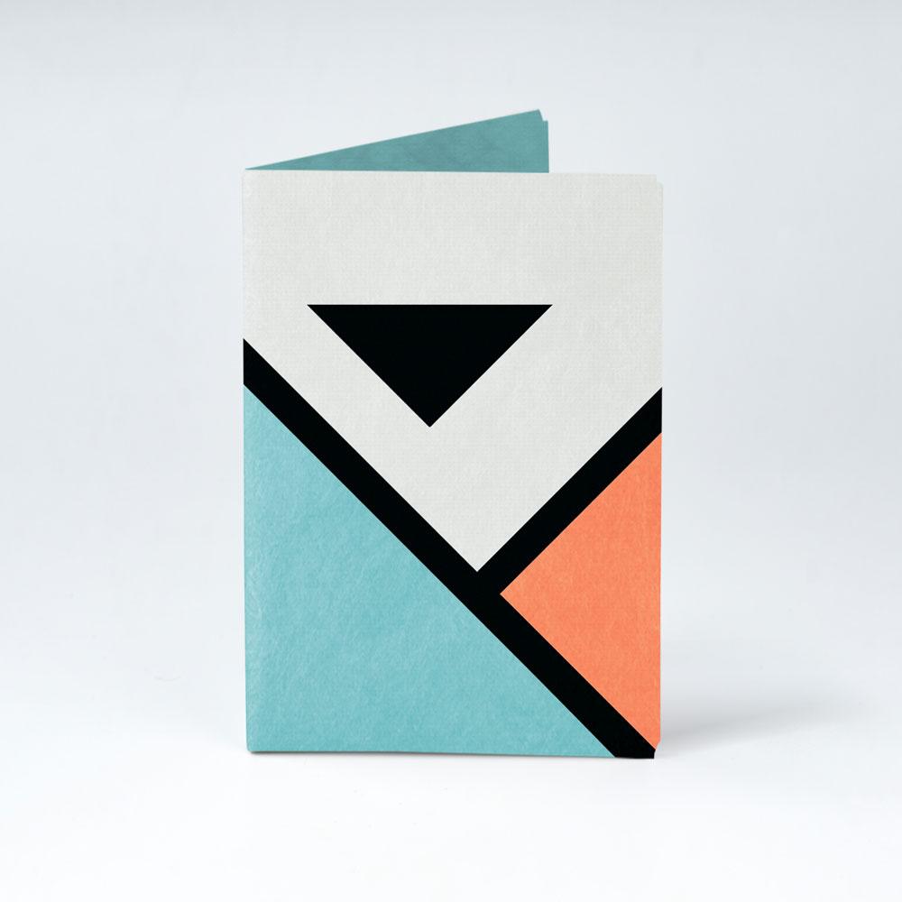 Обложка на паспорт NEW WALLET - New Angle; сделан из Tyvek®