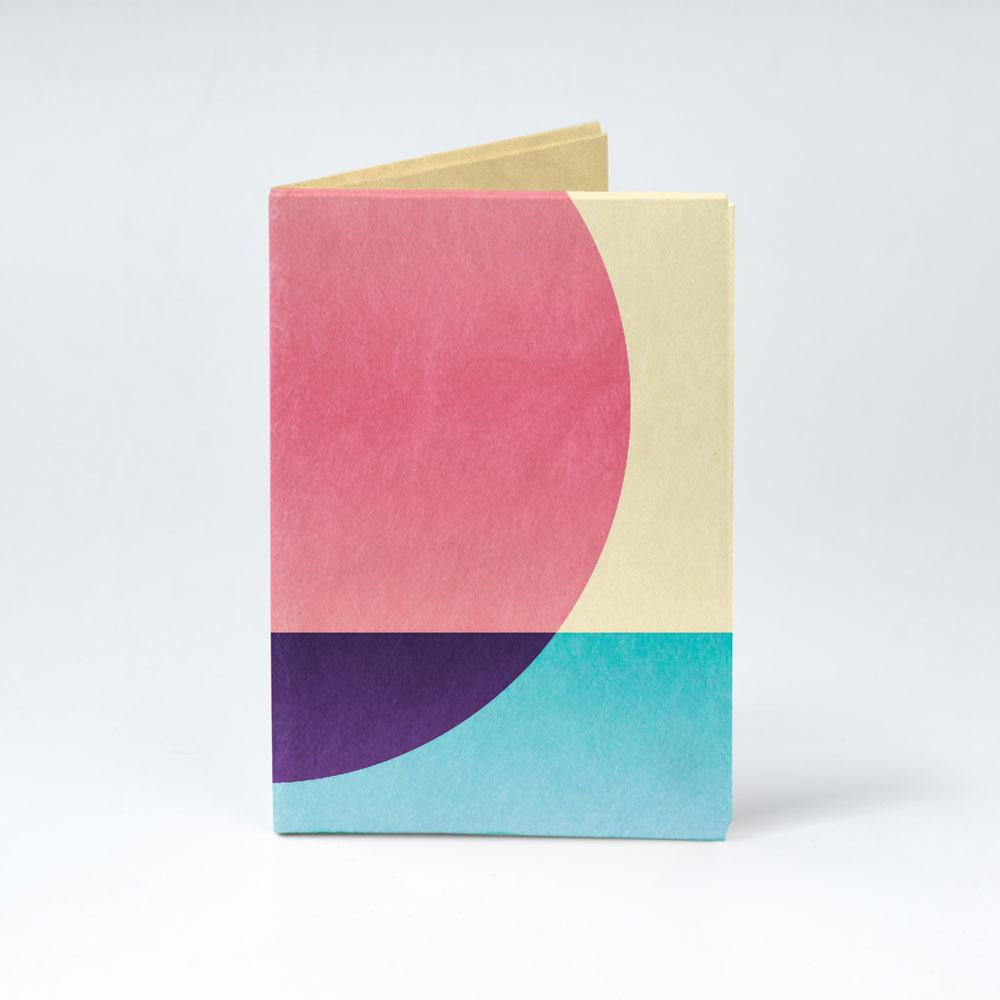 Обложка на паспорт NEW WALLET - New Ellipse; сделан из Tyvek®