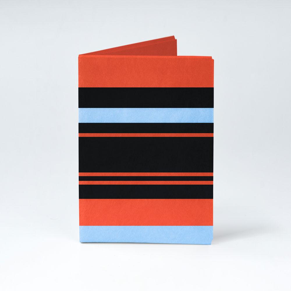 Обложка на паспорт NEW WALLET - New Tabby; сделан из Tyvek®