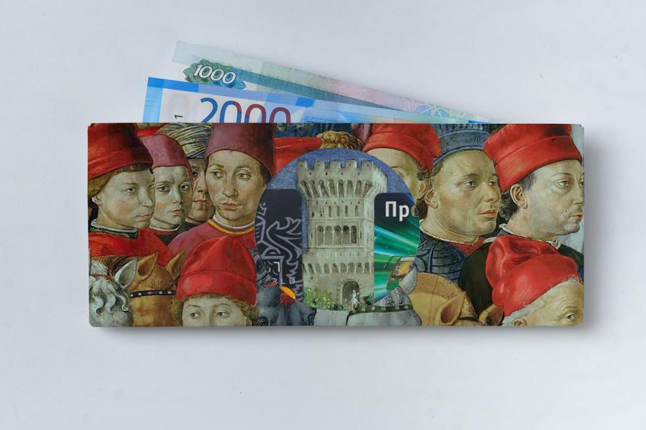 Кошелек NEW WALLET - New Middleages; сделан из Tyvek®