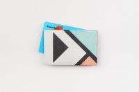 Кардхолдер NEW WALLET - New Geometric; сделан из Tyvek®