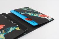 Кардхолдер NEW WALLET - New Blacktropic; сделан из Tyvek®