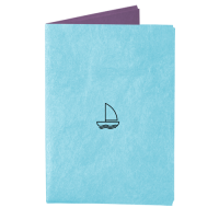Обложка на паспорт NEW WALLET - New W; сделан из Tyvek®