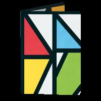 Обложка на паспорт NEW WALLET - New Impression; сделан из Tyvek®