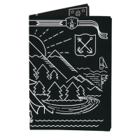 Обложка на паспорт NEW WALLET - New Trip; сделан из Tyvek®