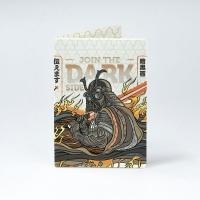 Обложка на паспорт NEW WALLET - New Darkside; сделан из Tyvek®