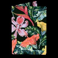 Обложка на паспорт NEW WALLET - New Tropic; сделан из Tyvek®