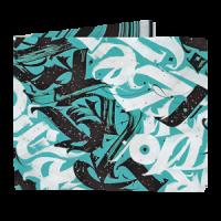 Кошелек NEW WALLET - New Calligraphy; сделан из Tyvek®