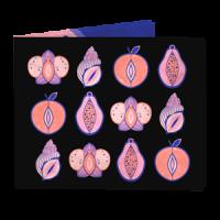 Кошелек NEW WALLET - New Vaginas; сделан из Tyvek®