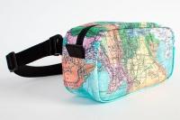 Поясная сумка NEW WALLET - New Atlas; сделан из Tyvek®