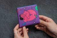 Кошелек NEW WALLET - New Selflove; сделан из Tyvek®