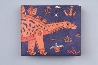 Кошелек NEW WALLET - New Dinosaur; сделан из Tyvek®
