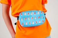 Поясная сумка NEW WALLET - New Doggy; сделан из Tyvek®