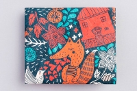 Кошелек NEW WALLET - New Foxes; сделан из Tyvek®